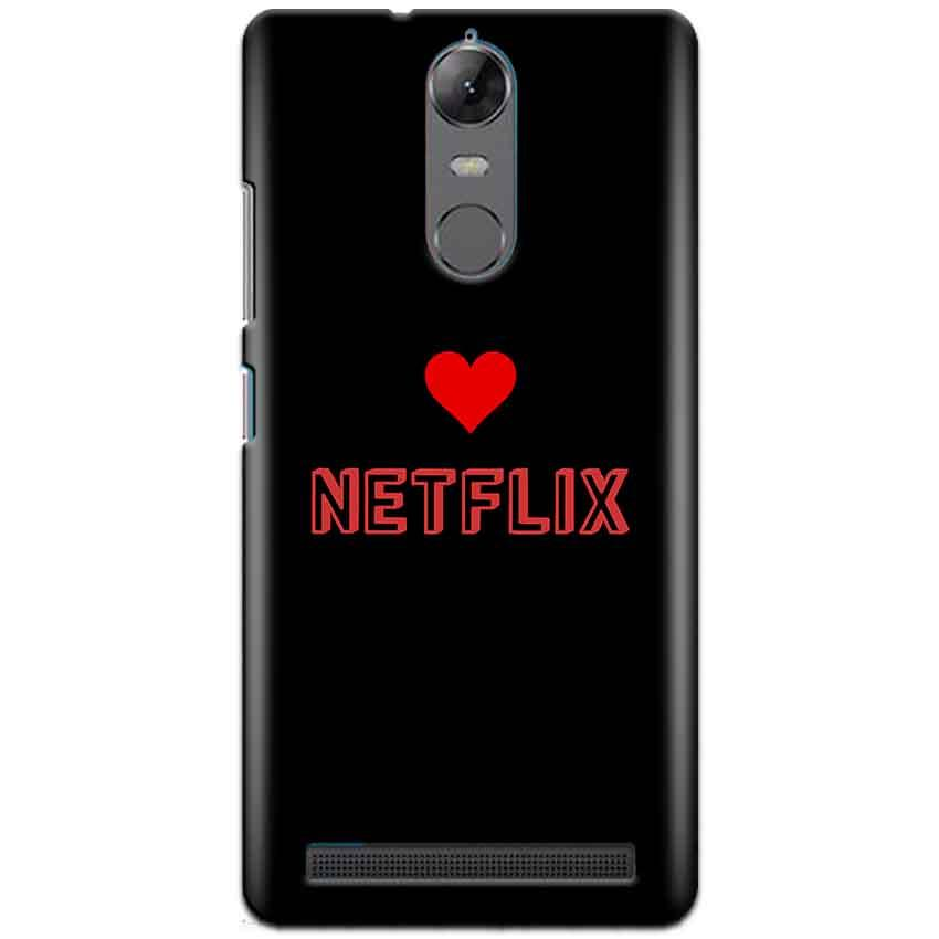 Lenovo K5 Note Mobile Covers Cases NETFLIX WITH HEART - Lowest Price - Paybydaddy.com