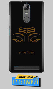 Lenovo K5 Note Mobile Covers Cases Om Namaha Gold Black - Lowest Price - Paybydaddy.com