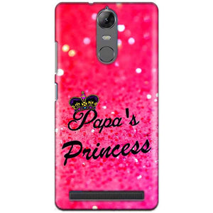 Lenovo K5 Note Mobile Covers Cases PAPA PRINCESS - Lowest Price - Paybydaddy.com
