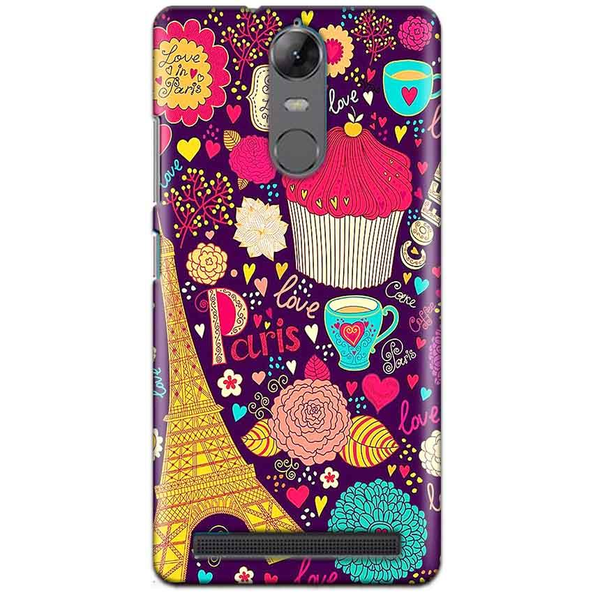 Lenovo K5 Note Mobile Covers Cases Paris Sweet love - Lowest Price - Paybydaddy.com