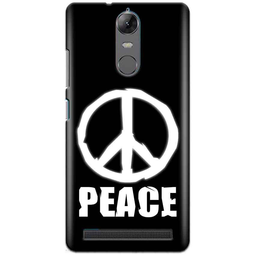 Lenovo K5 Note Mobile Covers Cases Peace Sign In White - Lowest Price - Paybydaddy.com