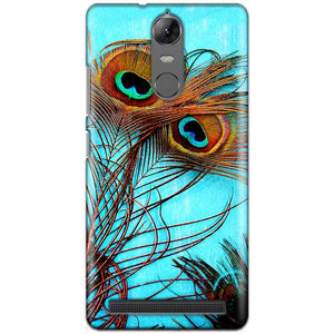 Lenovo K5 Note Mobile Covers Cases Peacock blue wings - Lowest Price - Paybydaddy.com