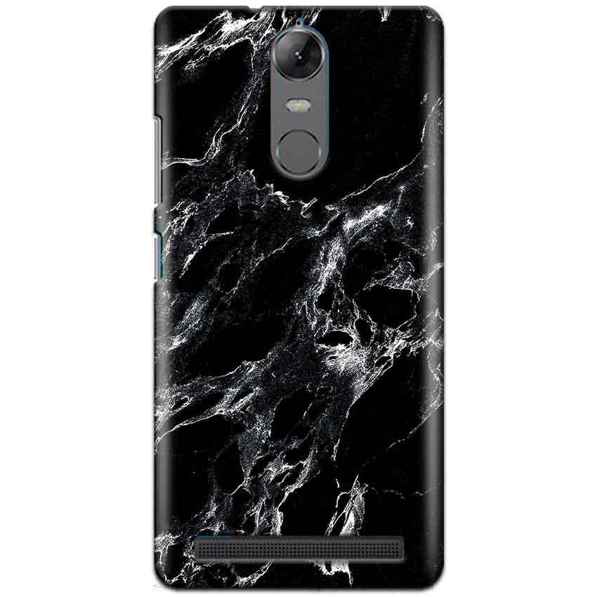 Lenovo K5 Note Mobile Covers Cases Pure Black Marble Texture - Lowest Price - Paybydaddy.com