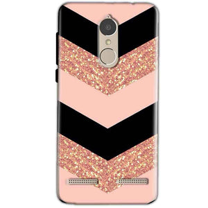 Lenovo K6 Power Mobile Covers Cases Black down arrow Pattern - Lowest Price - Paybydaddy.com