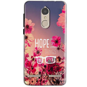 Lenovo K6 Power Mobile Covers Cases Hope in the Things Unseen- Lowest Price - Paybydaddy.com