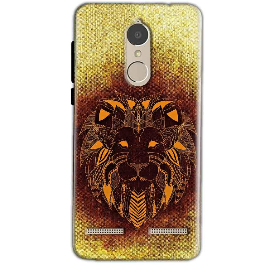 Lenovo K6 Power Mobile Covers Cases Lion face art - Lowest Price - Paybydaddy.com