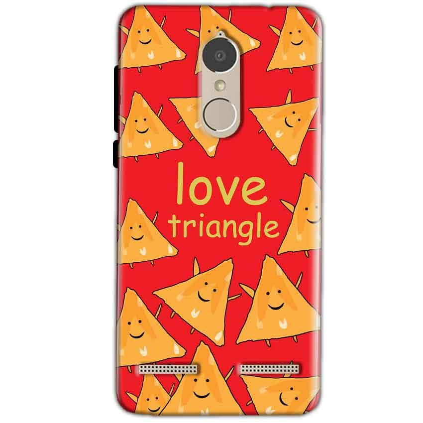 Lenovo K6 Power Mobile Covers Cases Love Triangle - Lowest Price - Paybydaddy.com