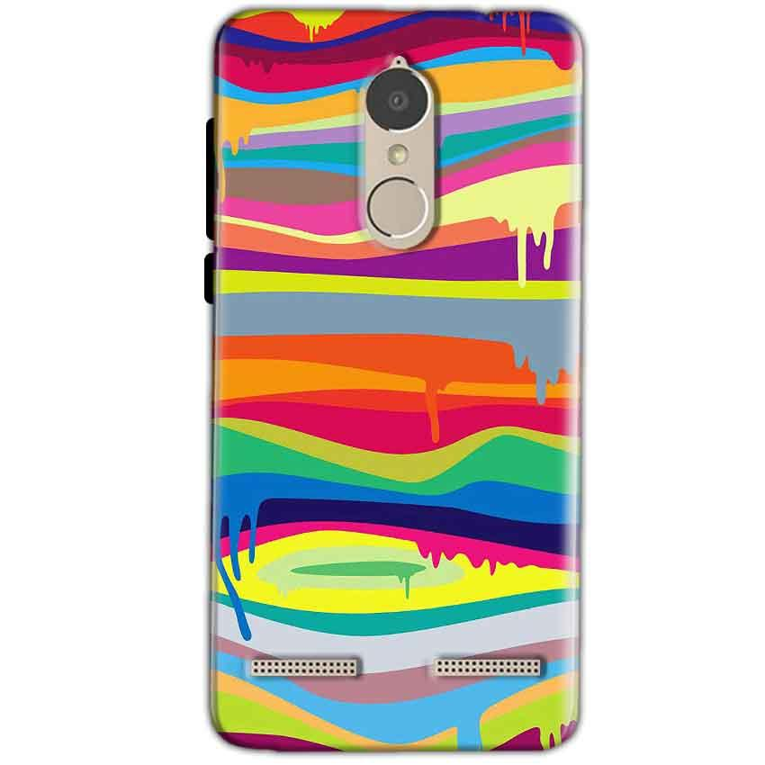 Lenovo K6 Power Mobile Covers Cases Melted colours - Lowest Price - Paybydaddy.com