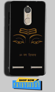 Lenovo K6 Power Mobile Covers Cases Om Namaha Gold Black - Lowest Price - Paybydaddy.com