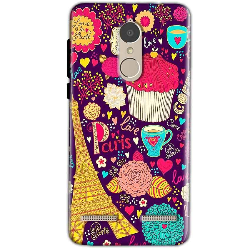 Lenovo K6 Power Mobile Covers Cases Paris Sweet love - Lowest Price - Paybydaddy.com
