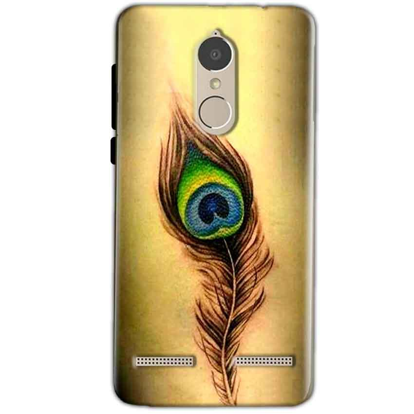 Lenovo K6 Power Mobile Covers Cases Peacock coloured art - Lowest Price - Paybydaddy.com