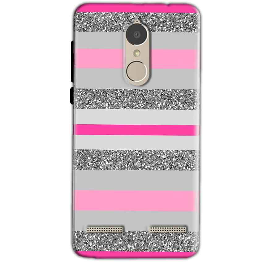 Lenovo K6 Power Mobile Covers Cases Pink colour pattern - Lowest Price - Paybydaddy.com