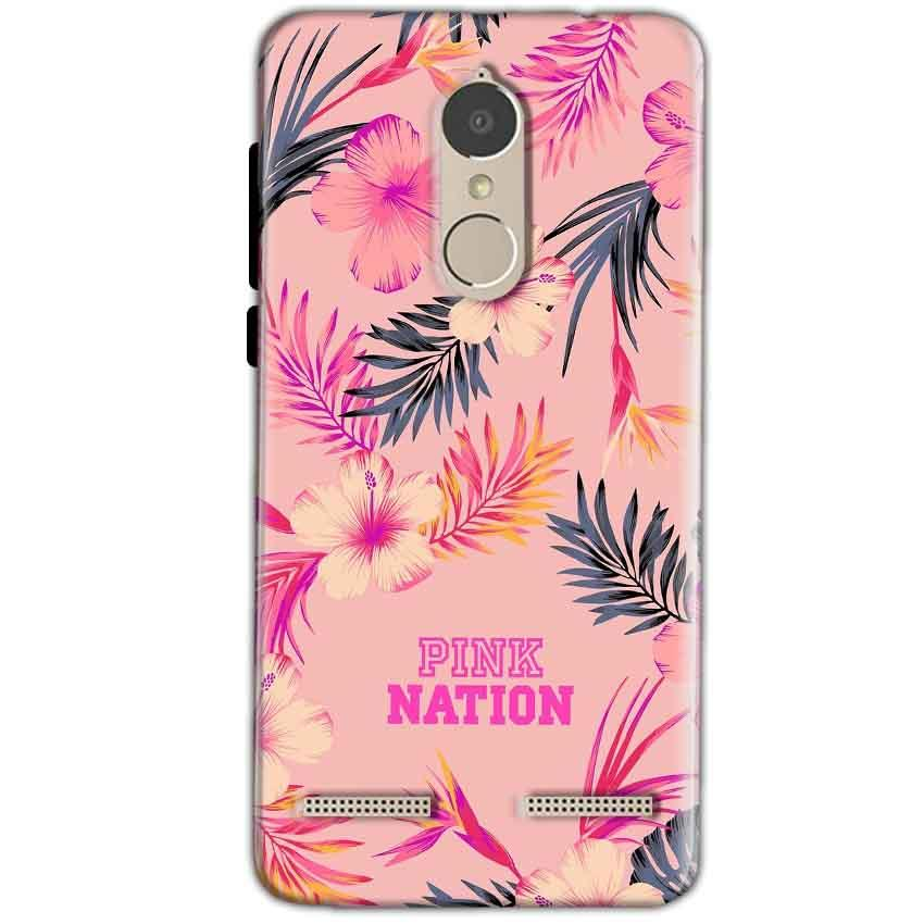 Lenovo K6 Power Mobile Covers Cases Pink nation - Lowest Price - Paybydaddy.com