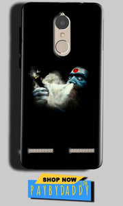 Lenovo K6 Power Mobile Covers Cases Shiva Aghori Smoking - Lowest Price - Paybydaddy.com