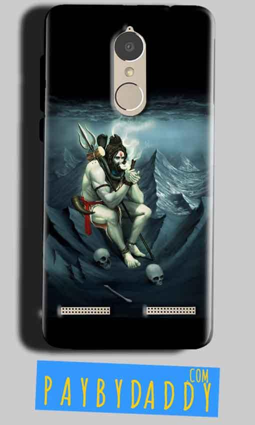 Lenovo K6 Power Mobile Covers Cases Shiva Smoking - Lowest Price - Paybydaddy.com