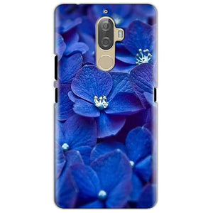 Lenovo K8 Mobile Covers Cases Blue flower - Lowest Price - Paybydaddy.com