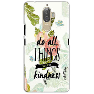 Lenovo K8 Mobile Covers Cases Do all things with kindness - Lowest Price - Paybydaddy.com