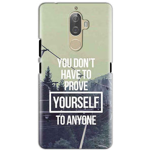 Lenovo K8 Mobile Covers Cases Donot Prove yourself - Lowest Price - Paybydaddy.com