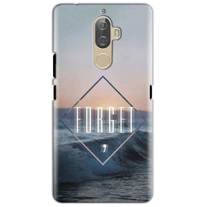 Lenovo K8 Mobile Covers Cases Forget Quote Something Different - Lowest Price - Paybydaddy.com