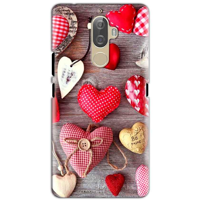 Lenovo K8 Mobile Covers Cases Hearts- Lowest Price - Paybydaddy.com