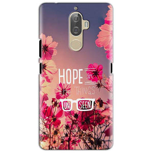 Lenovo K8 Mobile Covers Cases Hope in the Things Unseen- Lowest Price - Paybydaddy.com