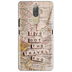 Lenovo K8 Mobile Covers Cases Live Travel Bug - Lowest Price - Paybydaddy.com