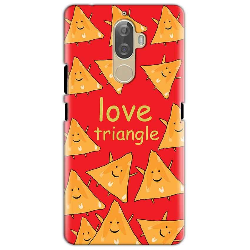 Lenovo K8 Mobile Covers Cases Love Triangle - Lowest Price - Paybydaddy.com