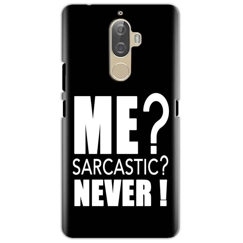 Lenovo K8 Mobile Covers Cases Me sarcastic - Lowest Price - Paybydaddy.com