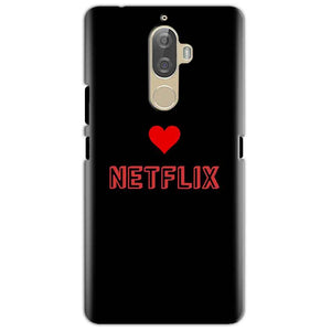 Lenovo K8 Mobile Covers Cases NETFLIX WITH HEART - Lowest Price - Paybydaddy.com