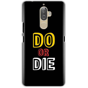 Lenovo K8 Note Mobile Covers Cases DO OR DIE - Lowest Price - Paybydaddy.com