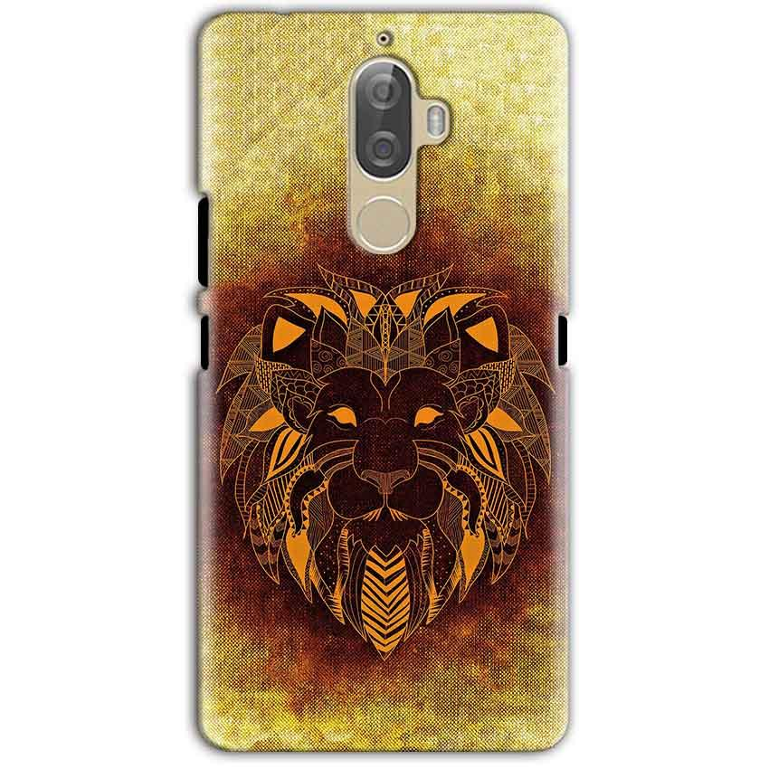Lenovo K8 Note Mobile Covers Cases Lion face art - Lowest Price - Paybydaddy.com