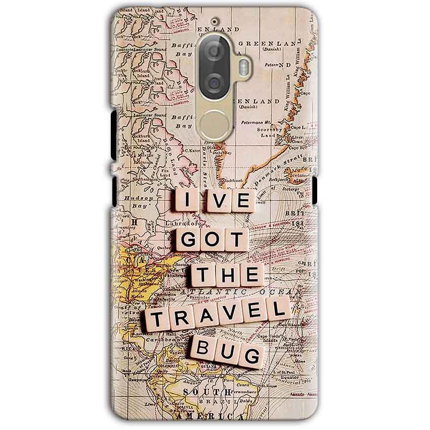 Lenovo K8 Note Mobile Covers Cases Live Travel Bug - Lowest Price - Paybydaddy.com