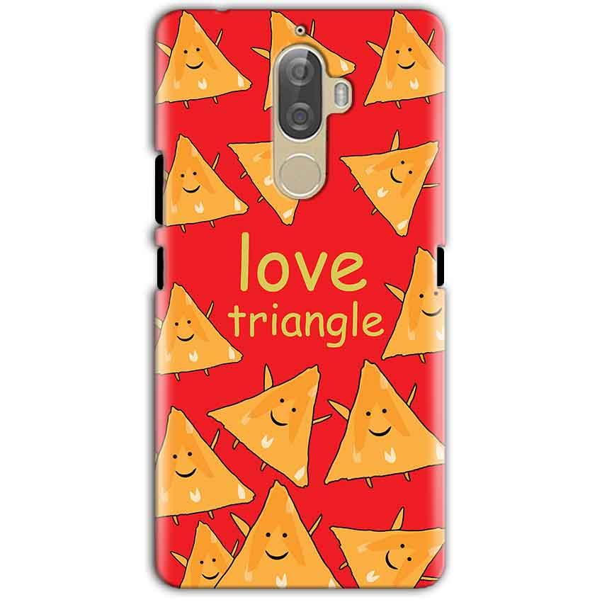 Lenovo K8 Note Mobile Covers Cases Love Triangle - Lowest Price - Paybydaddy.com