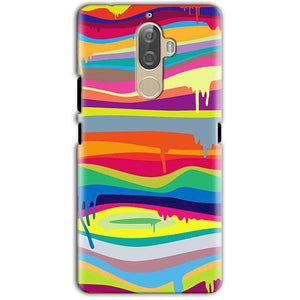 Lenovo K8 Note Mobile Covers Cases Melted colours - Lowest Price - Paybydaddy.com