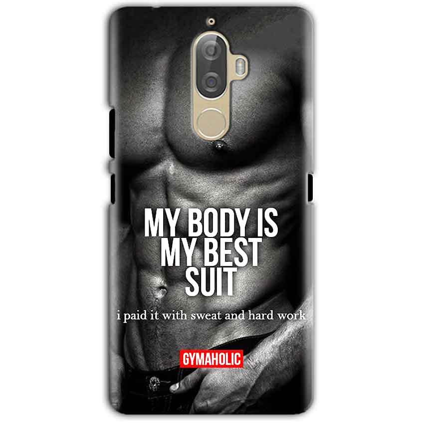 Lenovo K8 Note Mobile Covers Cases My Body is my best suit