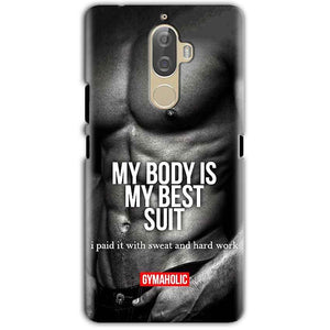 Lenovo K8 Note Mobile Covers Cases My Body is my best suit - Lowest Price - Paybydaddy.com