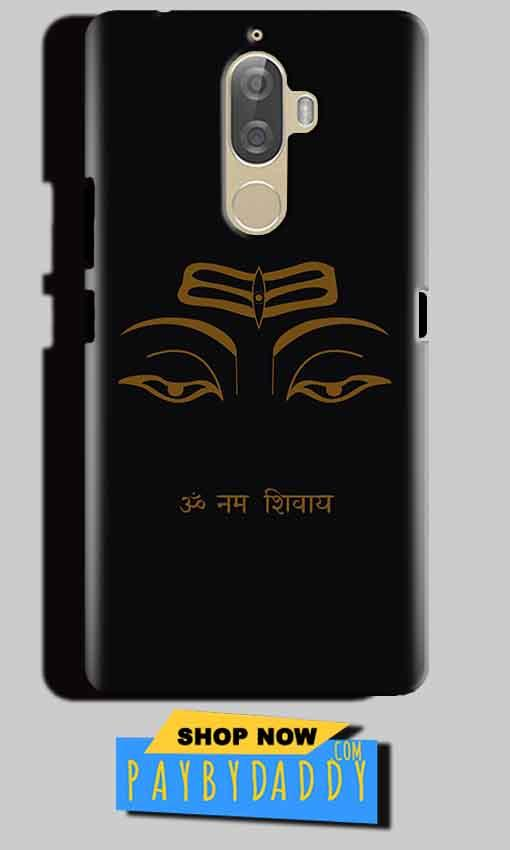 Lenovo K8 Note Mobile Covers Cases Om Namaha Gold Black - Lowest Price - Paybydaddy.com