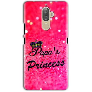Lenovo K8 Note Mobile Covers Cases PAPA PRINCESS - Lowest Price - Paybydaddy.com