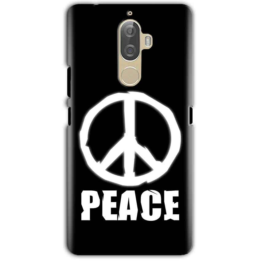 Lenovo K8 Note Mobile Covers Cases Peace Sign In White - Lowest Price - Paybydaddy.com