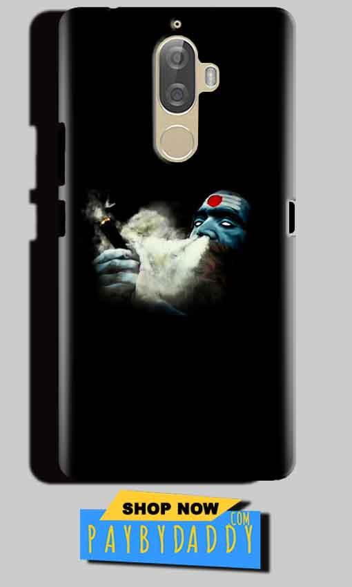 Lenovo K8 Note Mobile Covers Cases Shiva Aghori Smoking - Lowest Price - Paybydaddy.com