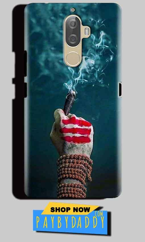 Lenovo K8 Note Mobile Covers Cases Shiva Hand With Clilam - Lowest Price - Paybydaddy.com