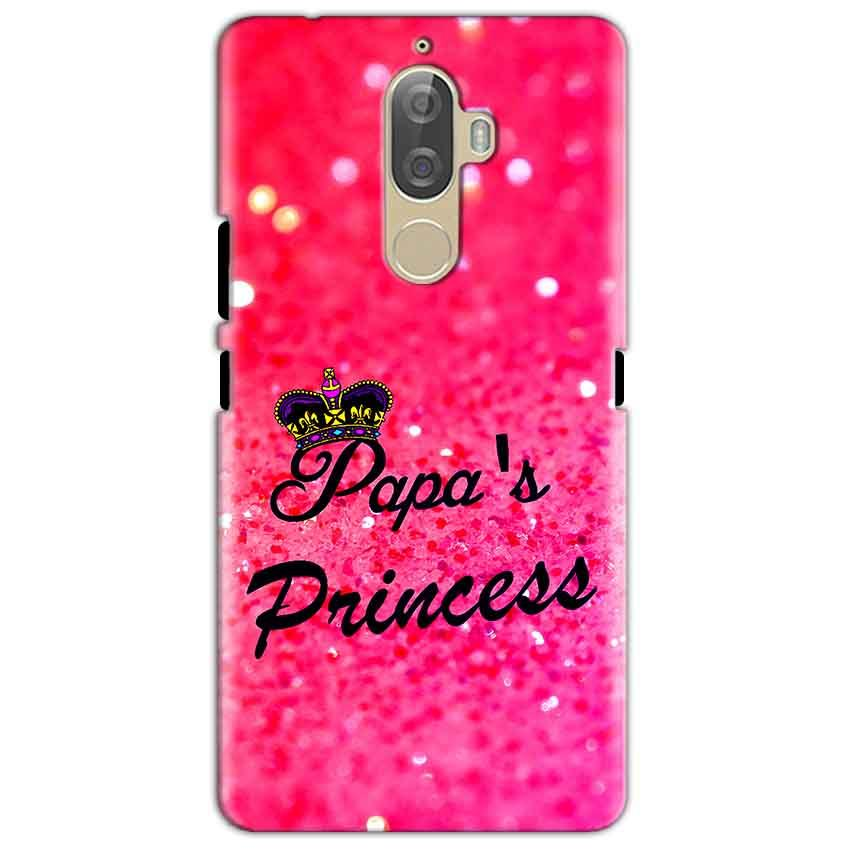 Lenovo K8 Mobile Covers Cases PAPA PRINCESS - Lowest Price - Paybydaddy.com