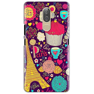 Lenovo K8 Mobile Covers Cases Paris Sweet love - Lowest Price - Paybydaddy.com