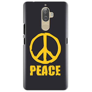 Lenovo K8 Mobile Covers Cases Peace Blue Yellow - Lowest Price - Paybydaddy.com