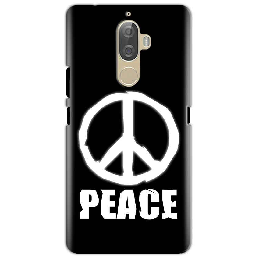 Lenovo K8 Mobile Covers Cases Peace Sign In White - Lowest Price - Paybydaddy.com