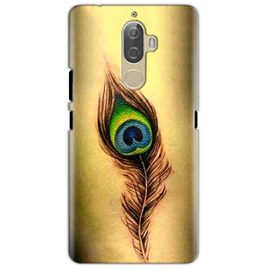 Lenovo K8 Mobile Covers Cases Peacock coloured art - Lowest Price - Paybydaddy.com