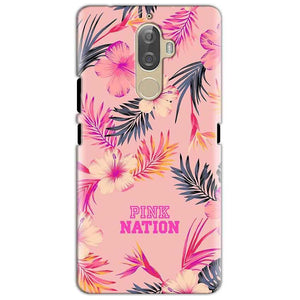 Lenovo K8 Mobile Covers Cases Pink nation - Lowest Price - Paybydaddy.com