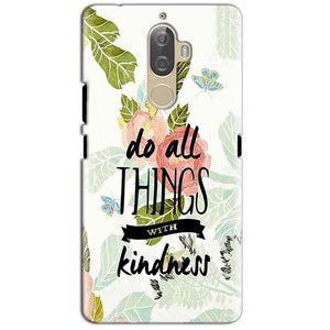 Lenovo K8 Plus Mobile Covers Cases Do all things with kindness - Lowest Price - Paybydaddy.com