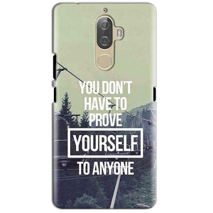 Lenovo K8 Plus Mobile Covers Cases Donot Prove yourself - Lowest Price - Paybydaddy.com