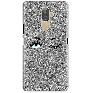 Lenovo K8 Plus Mobile Covers Cases Glitter Eye Wink - Lowest Price - Paybydaddy.com
